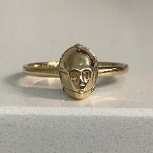 C-3PO Gold Ring